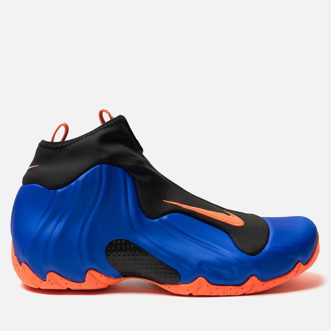 Мужские кроссовки Nike Air Flightposite Racer Blue/Total Orange/Black