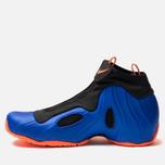 Мужские кроссовки Nike Air Flightposite Racer Blue/Total Orange/Black фото- 1