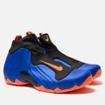 Мужские кроссовки Nike Air Flightposite Racer Blue/Total Orange/Black фото- 2