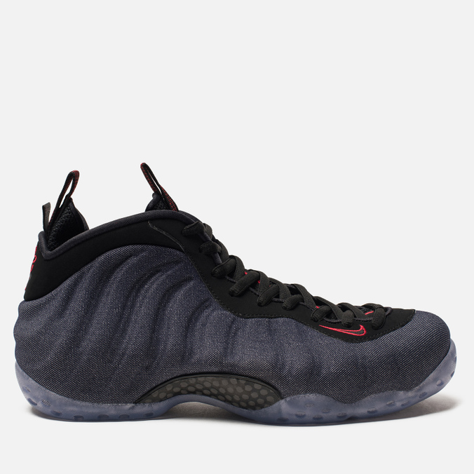 Мужские кроссовки Nike Air Foamposite One Obsidian/Black/University Red