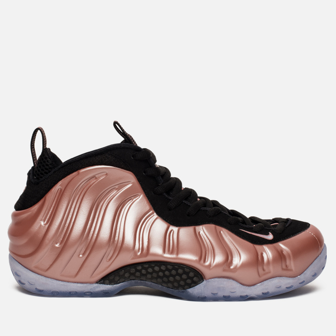Мужские кроссовки Nike Air Foamposite One Rust Pink/White/Black