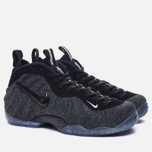 Мужские кроссовки Nike Air Foamposite Pro Dark Grey Heather/Black/Black фото- 2