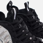 Мужские кроссовки Nike Air Foamposite Pro Silver Surfer Metallic Silver/Black/Metallic Silver фото- 3