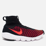 Мужские кроссовки Nike Air Footscape Magista Flyknit Black/Bright Crimson/Gym Red фото- 0