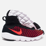 Мужские кроссовки Nike Air Footscape Magista Flyknit Black/Bright Crimson/Gym Red фото- 2