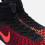 Мужские кроссовки Nike Air Footscape Magista Flyknit Black/Bright Crimson/Gym Red фото- 5