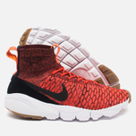 Nike Air Footscape Magista Flyknit Men's Sneakers Bright Crimson/Black - Gold Lead photo- 2