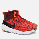 Nike Air Footscape Magista Flyknit Men's Sneakers Bright Crimson/Black - Gold Lead photo- 1