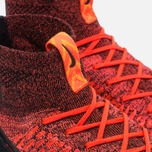 Nike Air Footscape Magista Flyknit Men's Sneakers Bright Crimson/Black - Gold Lead photo- 5