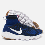 Мужские кроссовки Nike Air Footscape Magista Flyknit Deep Royal Blue/White фото- 2