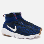 Мужские кроссовки Nike Air Footscape Magista Flyknit Deep Royal Blue/White фото- 1