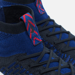 Мужские кроссовки Nike Air Footscape Magista Flyknit Deep Royal Blue/White фото- 3