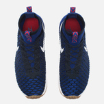 Мужские кроссовки Nike Air Footscape Magista Flyknit Deep Royal Blue/White фото- 4