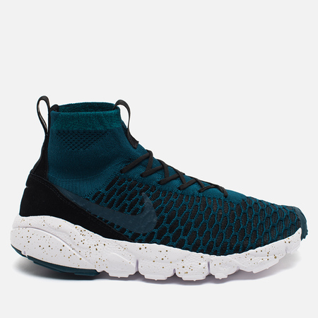 Мужские кроссовки Nike Air Footscape Magista Flyknit Midnight Turquoise/Black