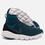 Мужские кроссовки Nike Air Footscape Magista Flyknit Midnight Turquoise/Black фото- 2
