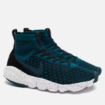 Мужские кроссовки Nike Air Footscape Magista Flyknit Midnight Turquoise/Black фото- 1