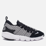 Мужские кроссовки Nike Air Footscape Natural Motion Jacquard Black/White/Black фото- 0
