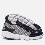 Мужские кроссовки Nike Air Footscape Natural Motion Jacquard Black/White/Black фото- 2