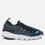 Мужские кроссовки Nike Air Footscape Natural Motion Jacquard Still Blue/White/Armory Navy/Black фото- 0