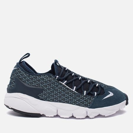Мужские кроссовки Nike Air Footscape Natural Motion Jacquard Still Blue/White/Armory Navy/Black