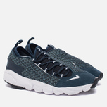 Мужские кроссовки Nike Air Footscape Natural Motion Jacquard Still Blue/White/Armory Navy/Black фото- 1