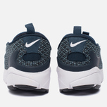 Мужские кроссовки Nike Air Footscape Natural Motion Jacquard Still Blue/White/Armory Navy/Black фото- 3