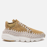 Мужские кроссовки Nike Air Footscape Woven Chukka QS Hairy Suede Pack Flat Gold фото- 0