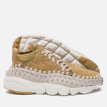 Мужские кроссовки Nike Air Footscape Woven Chukka QS Hairy Suede Pack Flat Gold фото- 2