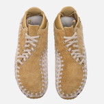 Мужские кроссовки Nike Air Footscape Woven Chukka QS Hairy Suede Pack Flat Gold фото- 4