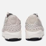 Мужские кроссовки Nike Air Footscape Woven Chukka QS Hairy Suede Pack Light Bone фото- 3