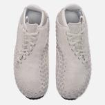 Мужские кроссовки Nike Air Footscape Woven Chukka QS Hairy Suede Pack Light Bone фото- 4