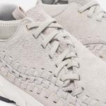 Мужские кроссовки Nike Air Footscape Woven Chukka QS Hairy Suede Pack Light Bone фото- 5