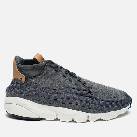 Кроссовки Nike Air Footscape Woven Chukka SE Dark Grey/Sail/Vacchetta Tan/Canyon Grey