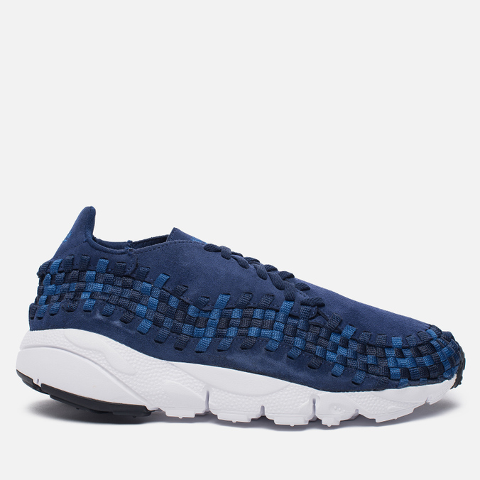 Мужские кроссовки Nike Air Footscape Woven NM Binary Blue/Team Royal/Black