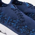 Мужские кроссовки Nike Air Footscape Woven NM Binary Blue/Team Royal/Black фото- 5