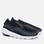 Мужские кроссовки Nike Air Footscape Woven NM Black/Anthracite/White фото- 2