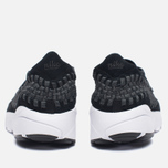 Мужские кроссовки Nike Air Footscape Woven NM Black/Anthracite/White фото- 3
