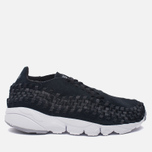 Мужские кроссовки Nike Air Footscape Woven NM Black/Dark Grey/Wolf Grey фото- 0