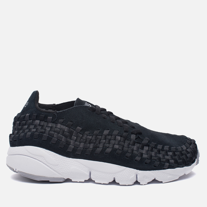 Мужские кроссовки Nike Air Footscape Woven NM Black/Dark Grey/Wolf Grey