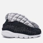 Мужские кроссовки Nike Air Footscape Woven NM Black/Dark Grey/Wolf Grey фото- 1
