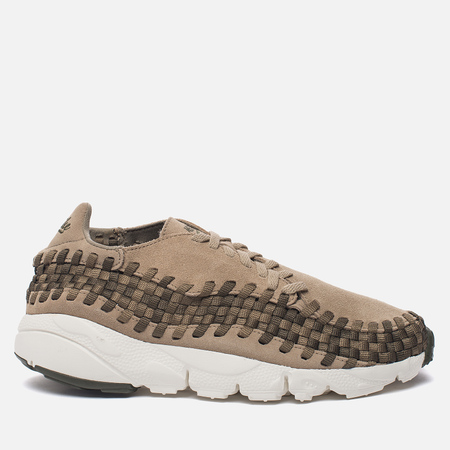 Мужские кроссовки Nike Air Footscape Woven NM Khaki/Medium Olive/Cargo Khaki/Sail