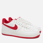 Мужские кроссовки Nike Air Force 1 Low Retro Summit White/University Red фото- 1