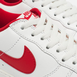 Мужские кроссовки Nike Air Force 1 Low Retro Summit White/University Red фото- 5