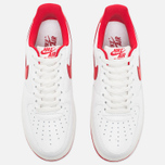 Мужские кроссовки Nike Air Force 1 Low Retro Summit White/University Red фото- 4