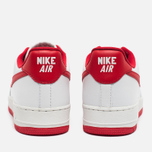 Nike Air Force 1 Low Retro Summit Men's Sneakers White/University Red photo- 3