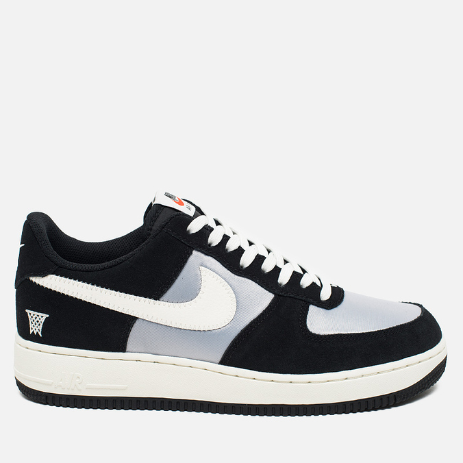 Мужские кроссовки Nike Air Force 1 '07 Black Sail/Wolf Grey