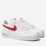 Мужские кроссовки Nike Air Force 1 '07 3 White/Gym Red фото- 1