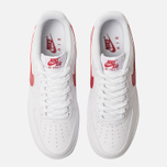 Мужские кроссовки Nike Air Force 1 '07 3 White/Gym Red фото- 5