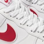 Мужские кроссовки Nike Air Force 1 '07 3 White/Gym Red фото- 6