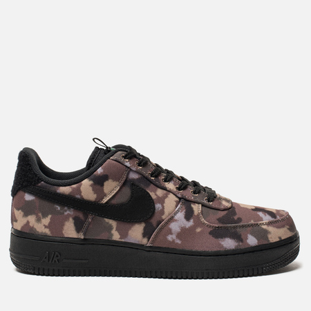 Мужские кроссовки Nike Air Force 1  07 Ale Brown Black Cargo Khaki 9b8010e69a0